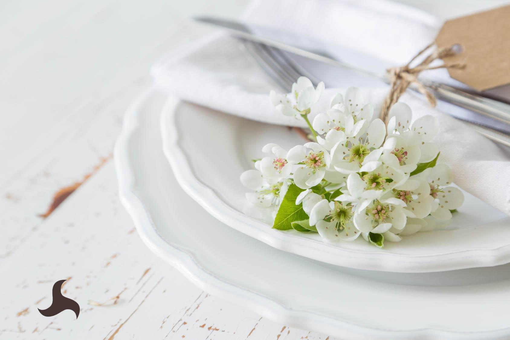 Mesas manteles y servilletas primavera La Pajarita
