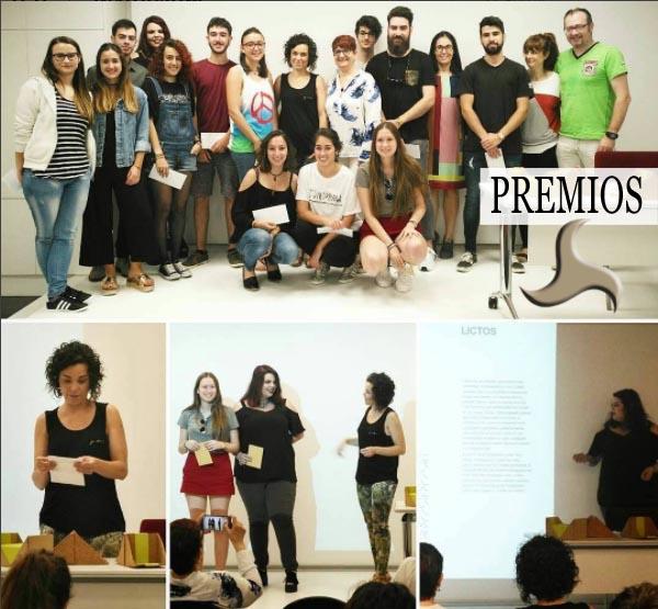 Premios La Pajarita Mapelor EASD Alcoi