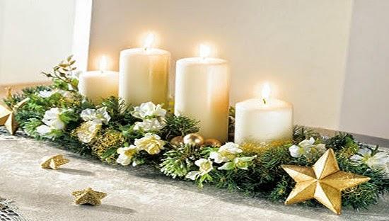 decoracion de navidad para restaurantes centro de mesa La Pajarita