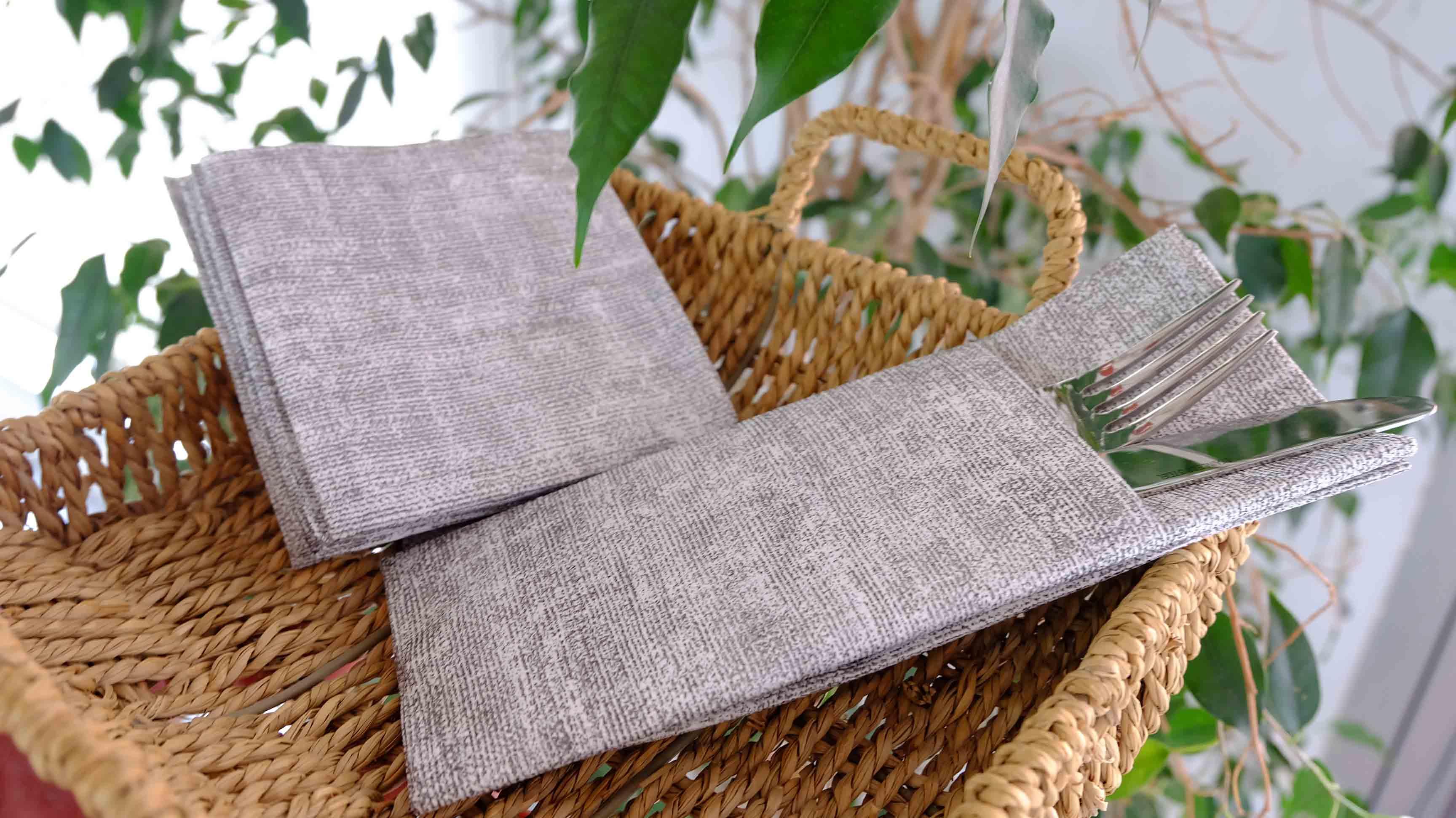 airlaid-servilletas-y manteles-biodegradables-sostenibles-la-pajarita