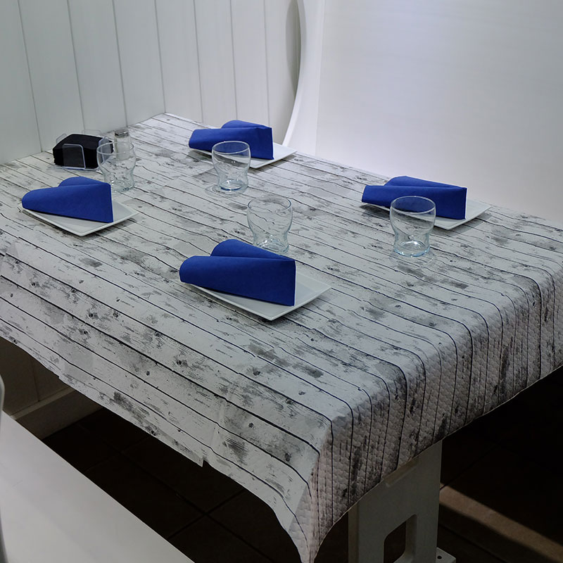Manteles de papel en rollo Gama Tablas