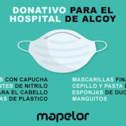 donativo-hospital-alcoy-mapelor-coronavirus