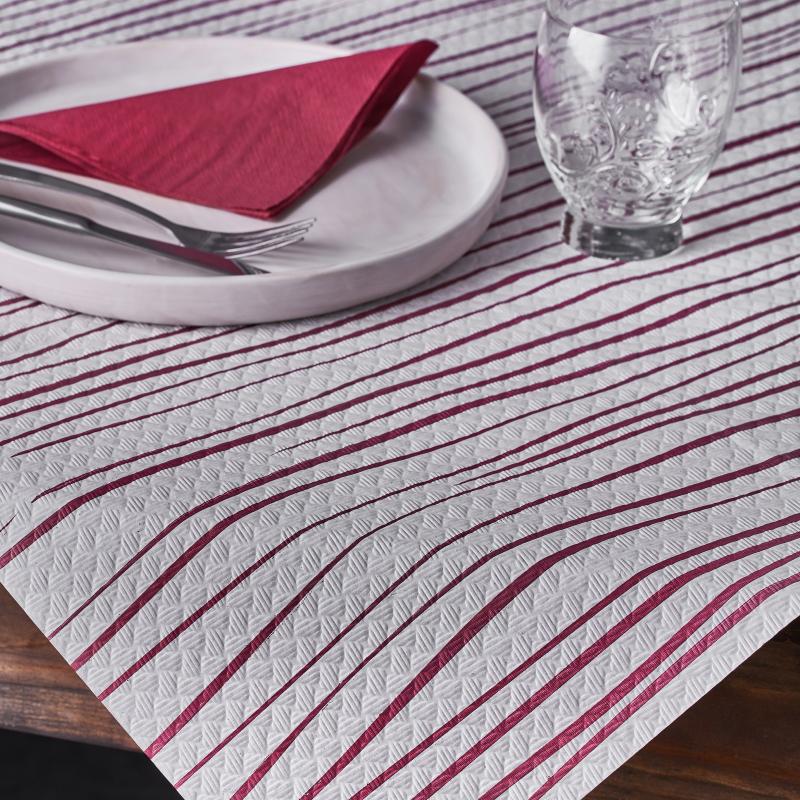 manteles-de-papel-100x100-kenia-rojo-la-pajarita