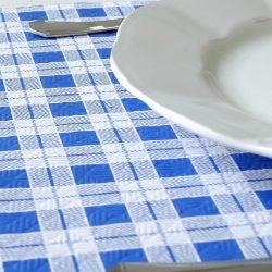 manteles-de-papel-cuadros-azules-detalle-1x100-la-pajarita-mapelor
