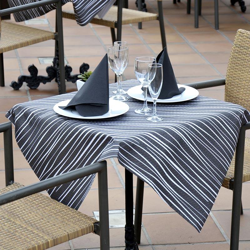 manteles-de-papel-kenia-negro-hilo-blanco-1x100-la-pajarita-mapelor