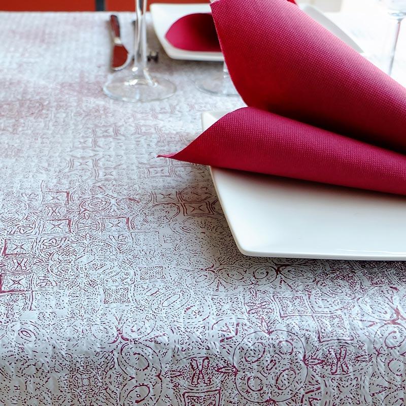 manteles-decorados-de-papel-tesela-burdeos-1x100-la-pajarita-mapelor