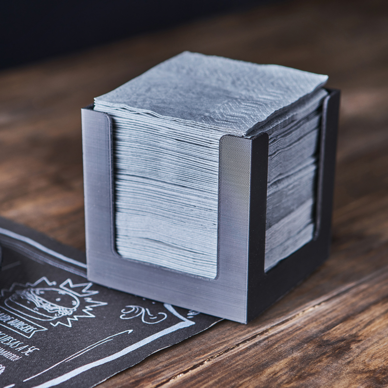 servilletas-de-papel-20x20-gris-la-pajarita-mapelor