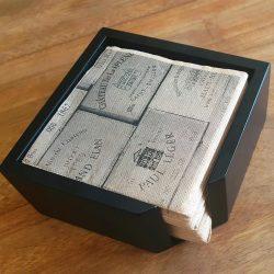 servilletas-de-papel-25x25-punta-punta-boxes-servilletero-la-pajarita-mapelor