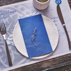 servilletas-de-papel-40x40-azul-plegado-1-octavo-la-pajarita-mapelor
