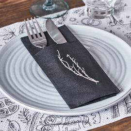 servilletas-de-papel-para-cubiertos-canguro-negras-la-pajarita